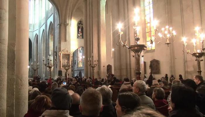 Vánoční koncert v kolínském chrámu sv. Bartoloměje