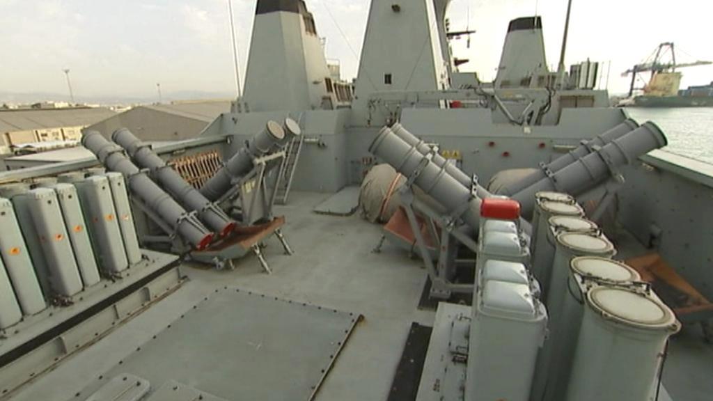 Norská loď je připravena na vyzvednutí syrských chemických zbraní