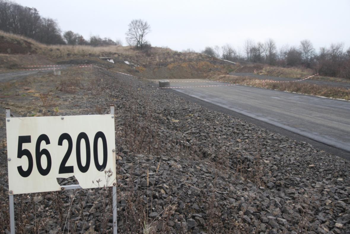 Zavalená dálnice do Drážďan