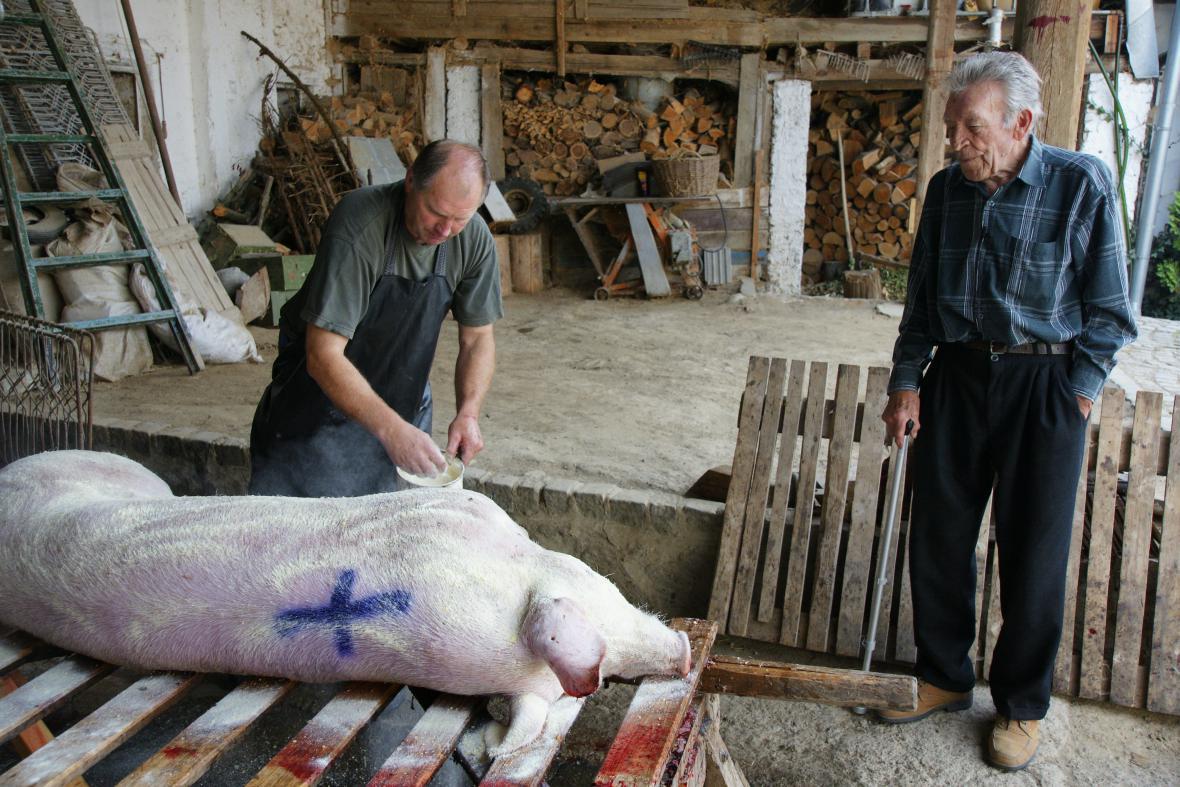 Foto z natáčení dokumetu Šil jsem u Kubiše