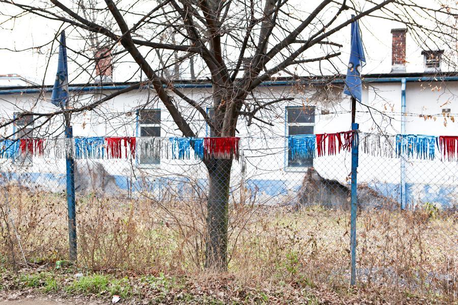 Bývalý autobazar na Libeňském ostrově