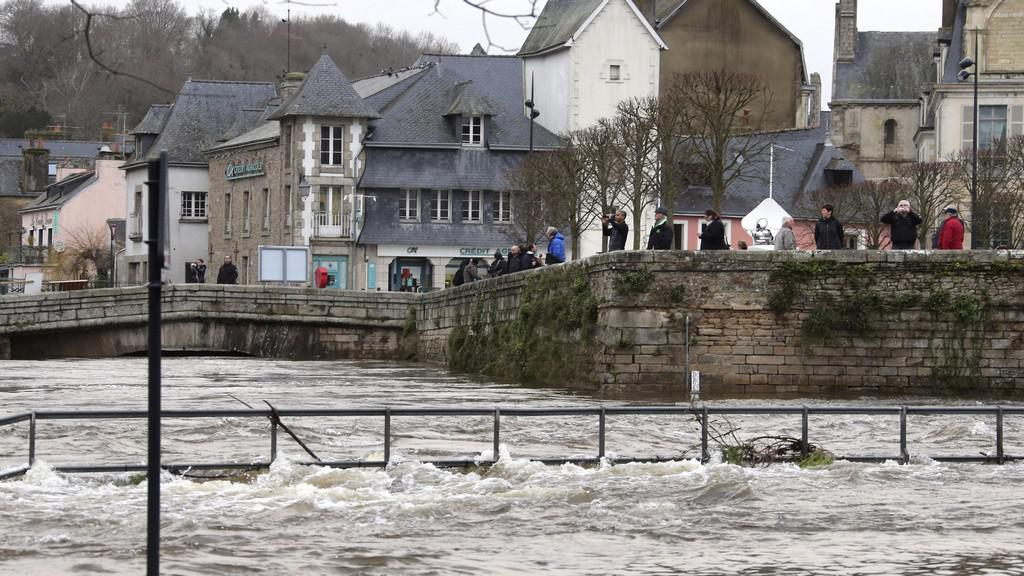 Povodně v Quimperlé