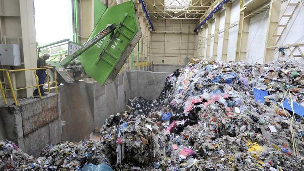 Odpad ve spalovně