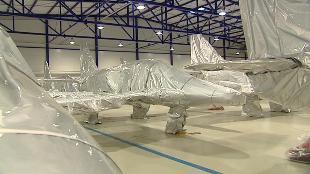 Uskladněné letouny L-159