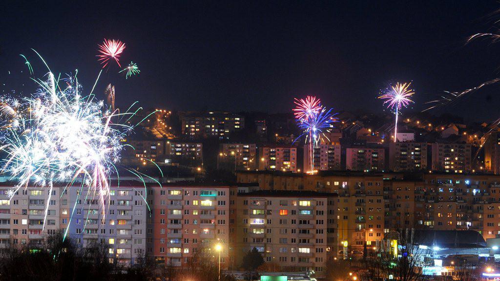 Silvestr v Brně