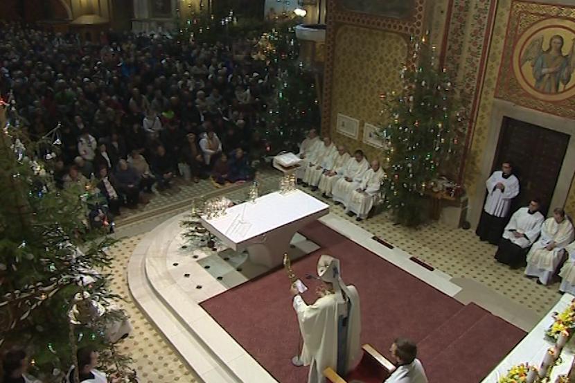 Hostýnská bazilika byla zaplněná do posledního místa