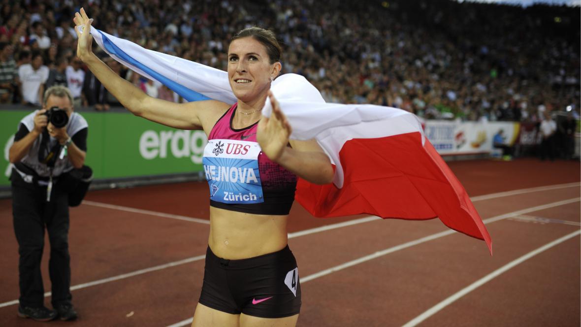 Zuzana Hejnová slaví triumf v Diamantové lize
