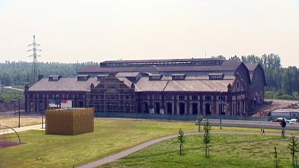 Ostrava, Trojhalí