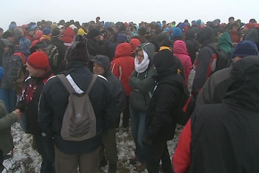 Na Velkou Javořinu každoročně přicházejí stovky lidí