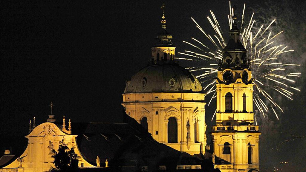 Praha vítá nový rok