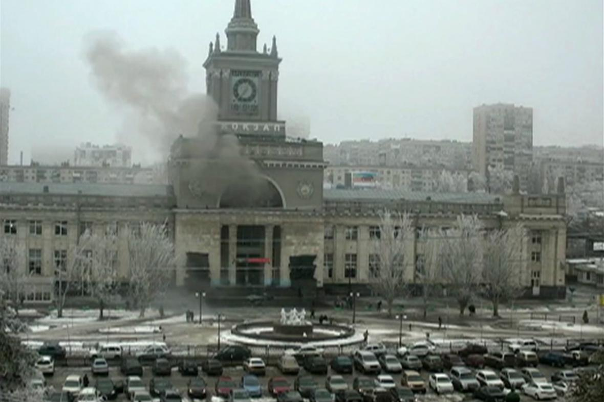 Útok na nádraží ve Volgogradu