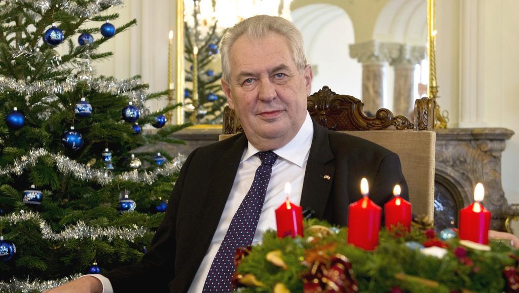 Vánoční poselství Miloše Zemana