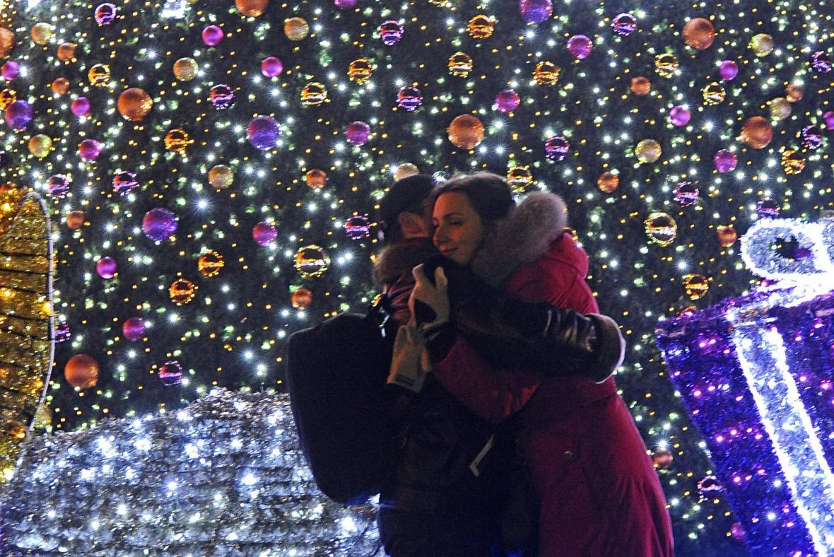 Oslavy nového roku ve Varšavě