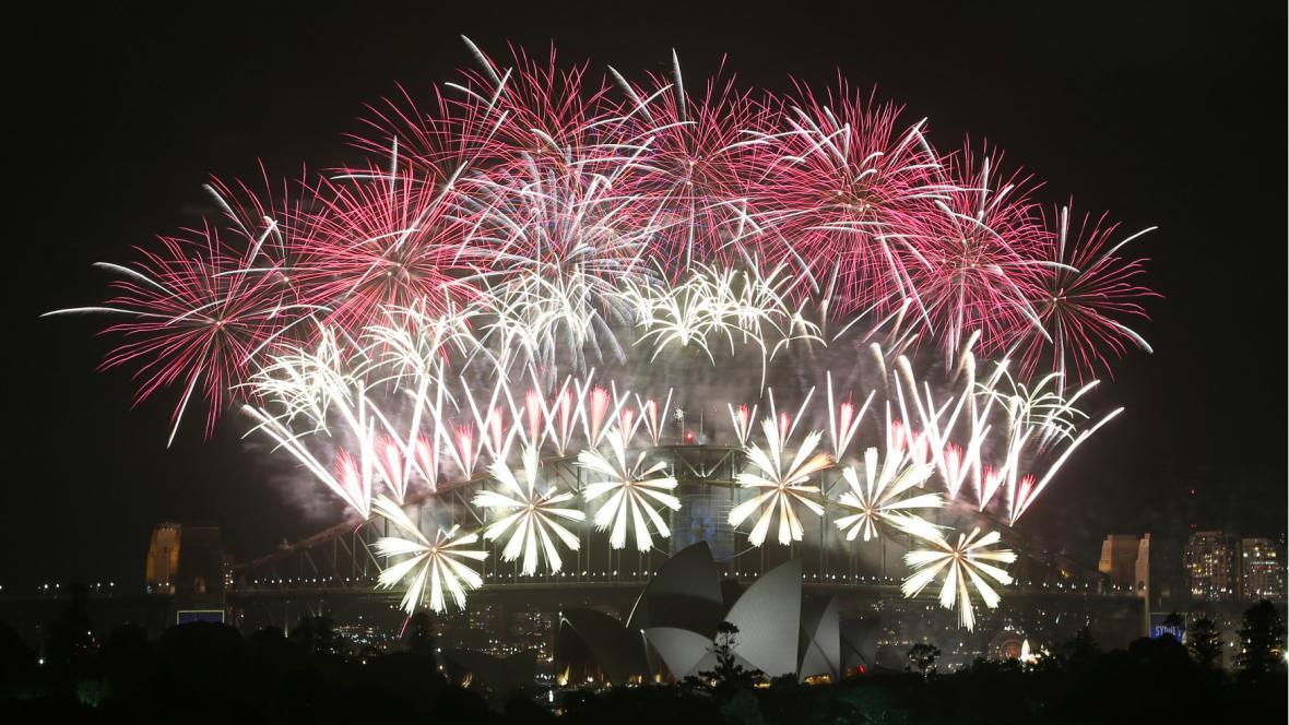 Oslavy příchodu roku 2014 v Sydney