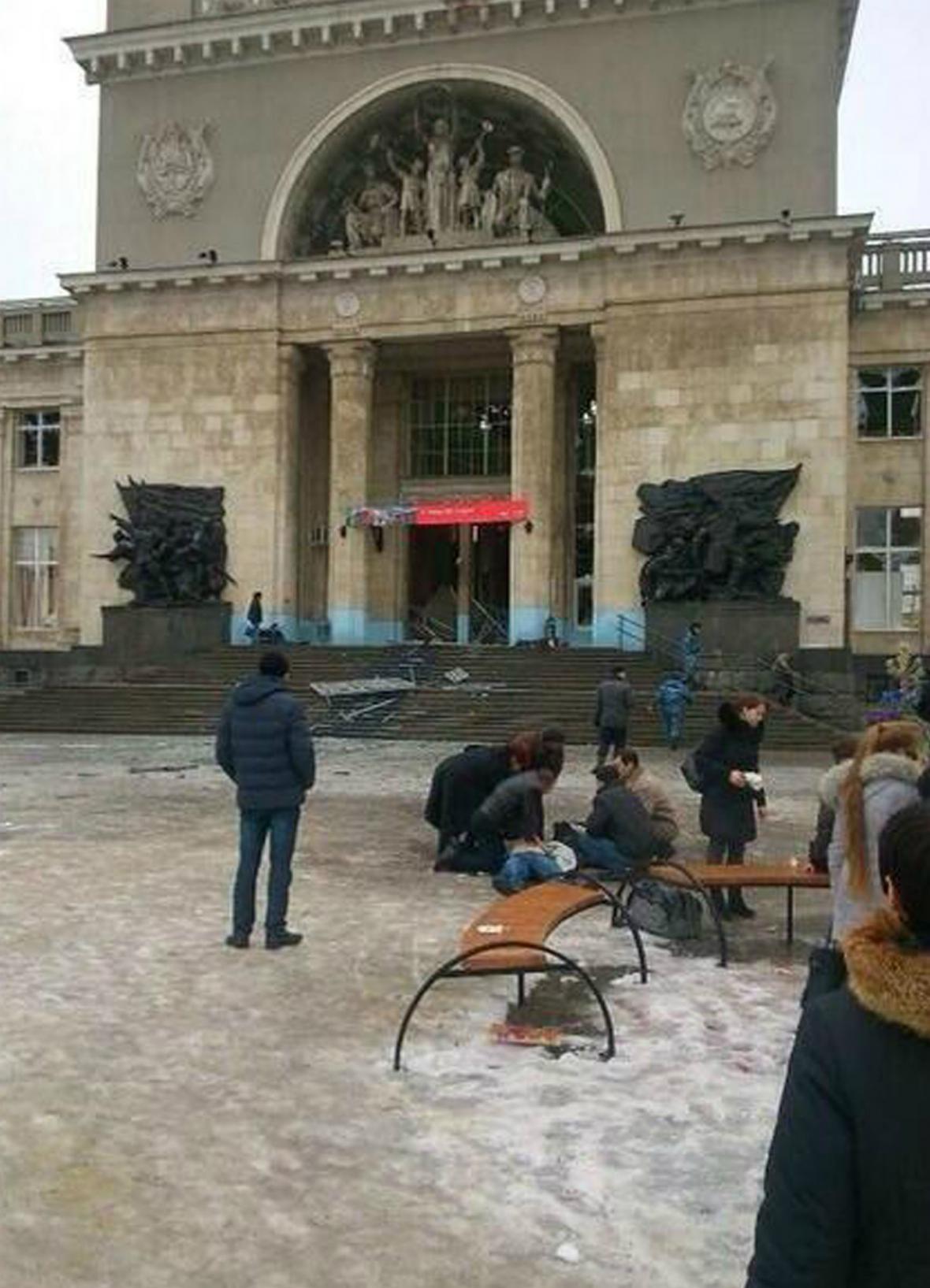 Atentát na nádraží ve Volgogradu
