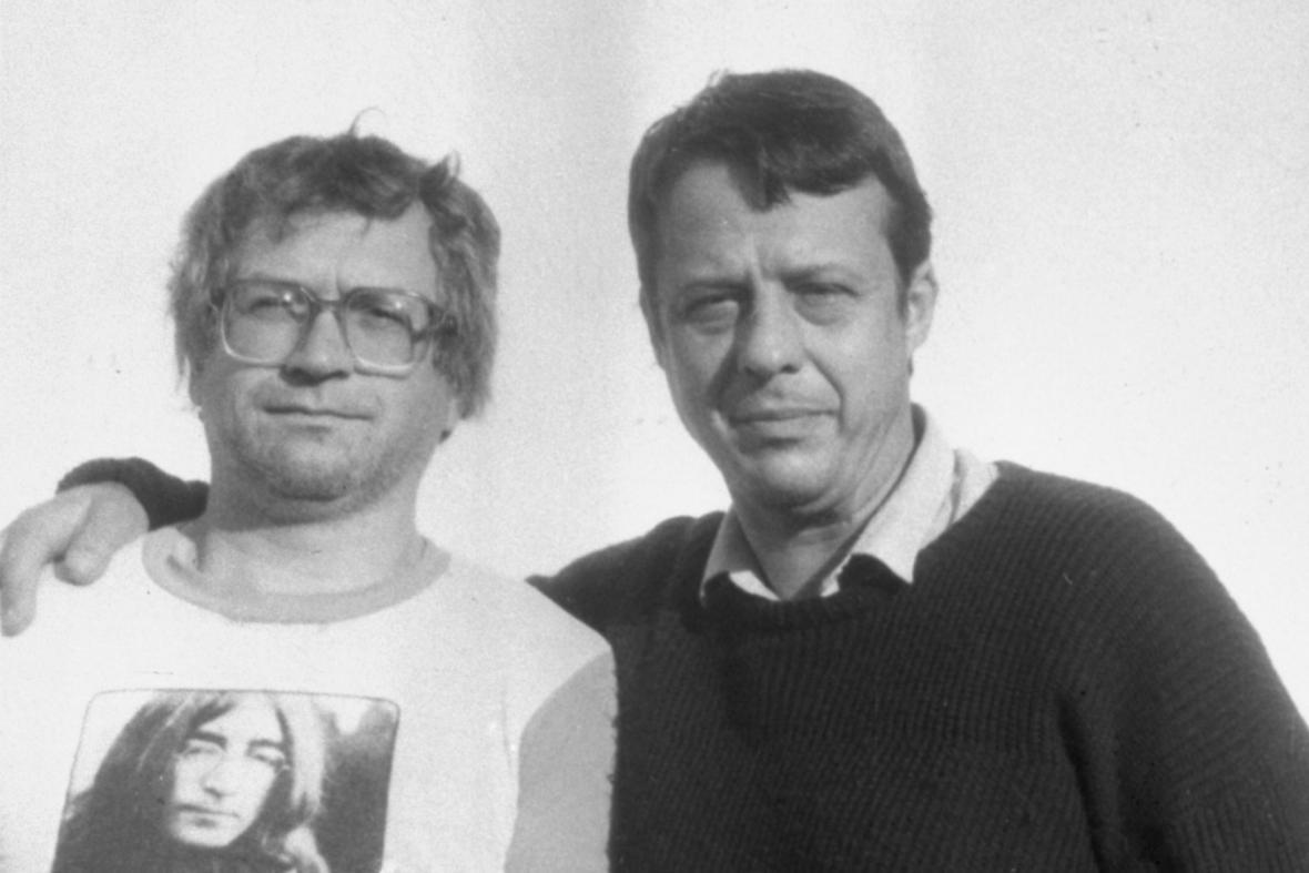 Ivan Jirous a Petr Uhl (1987)