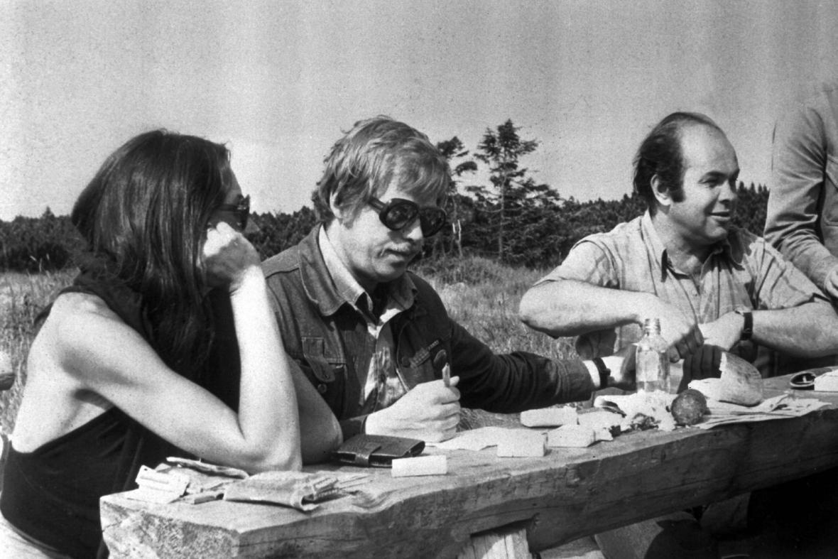 Václav Havel, Marta Kubišová a Jacek Kuroň