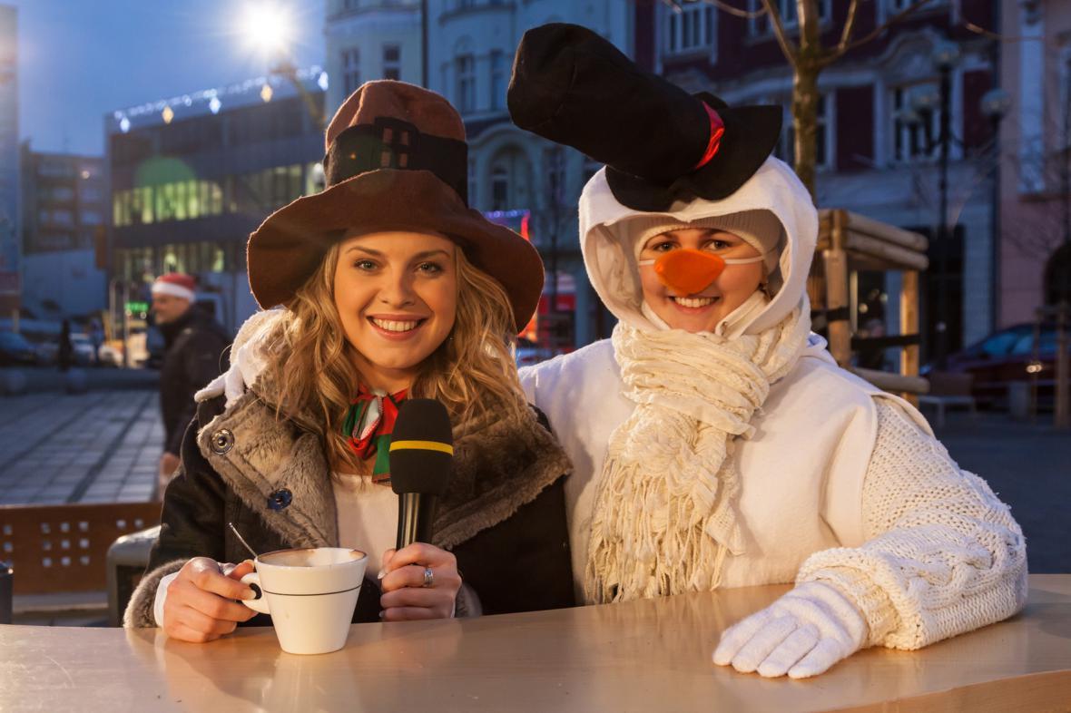 Rosnička Vendulka a slečna Sněhulačka mají krásný úsměv, že?