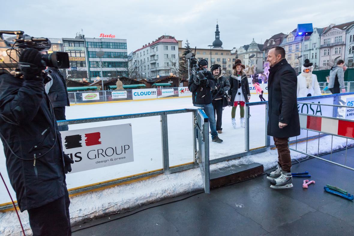 Petr Rajchert si musí vyzkoušet všechno… ano, chystá se i na led!