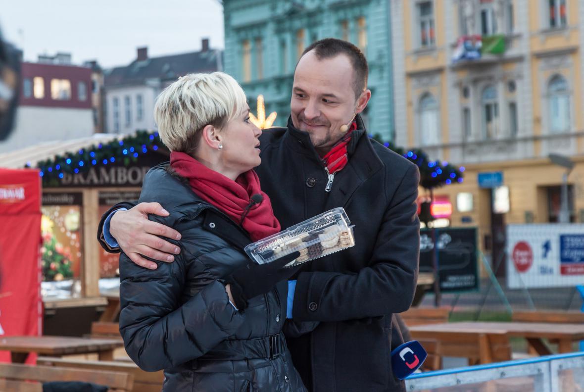 Hostem vysílání byla i Gabriela Lefenda, radost měl nejen Petr…