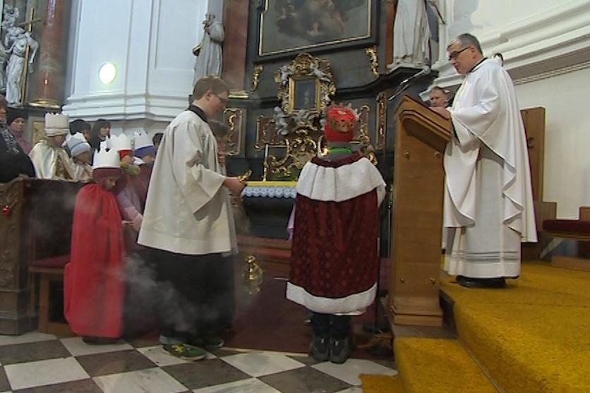 Zahájení Tříkrálové sbírky ve Veselí nad Moravou
