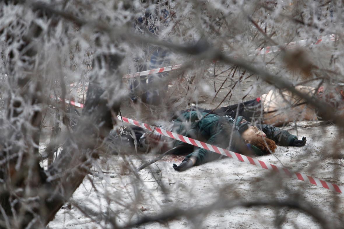 Oběti atentátu na trolejbus ve Volgogradě