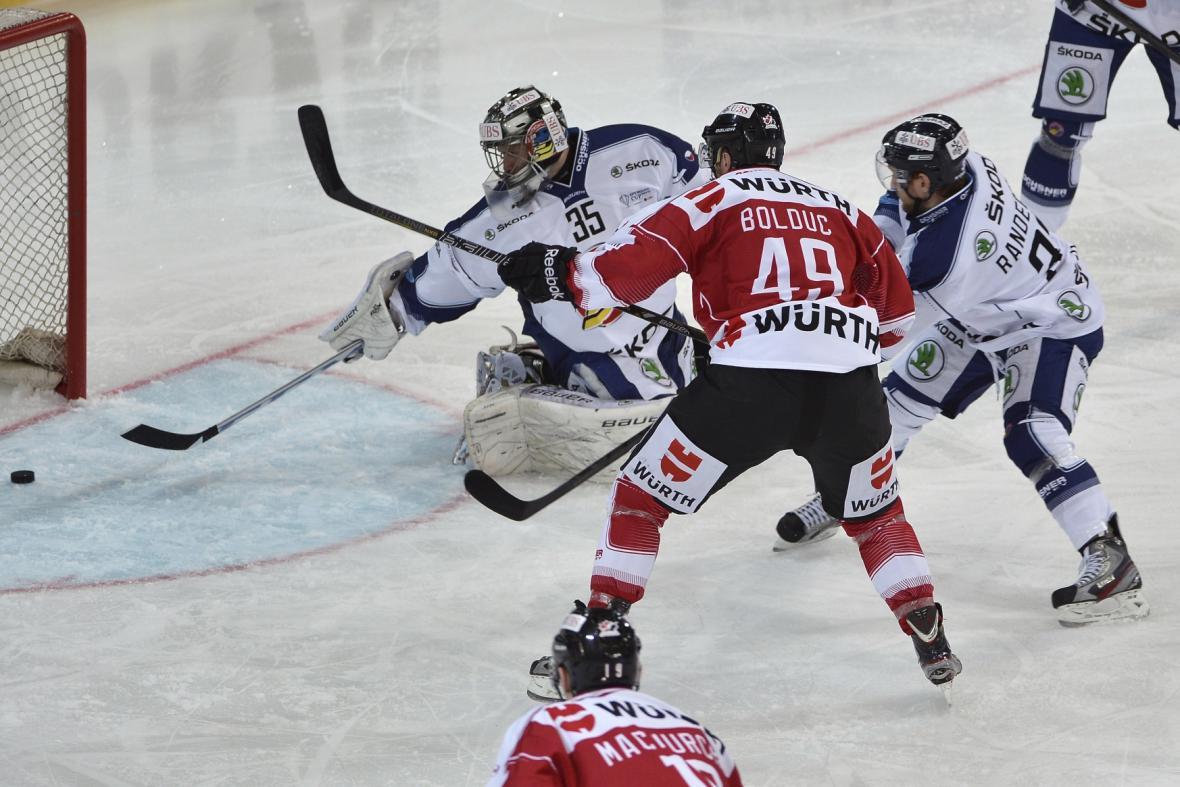 Zápas Spengler Cupu Vítkovice - Kanada