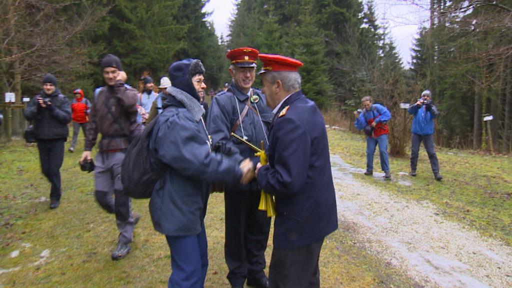 Pěší vlak Moldava – Holzhau