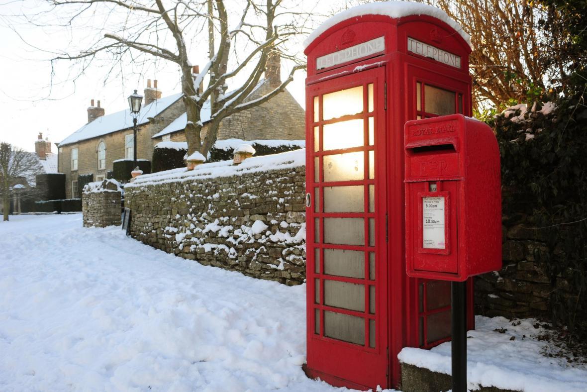 Britská telefonní budka