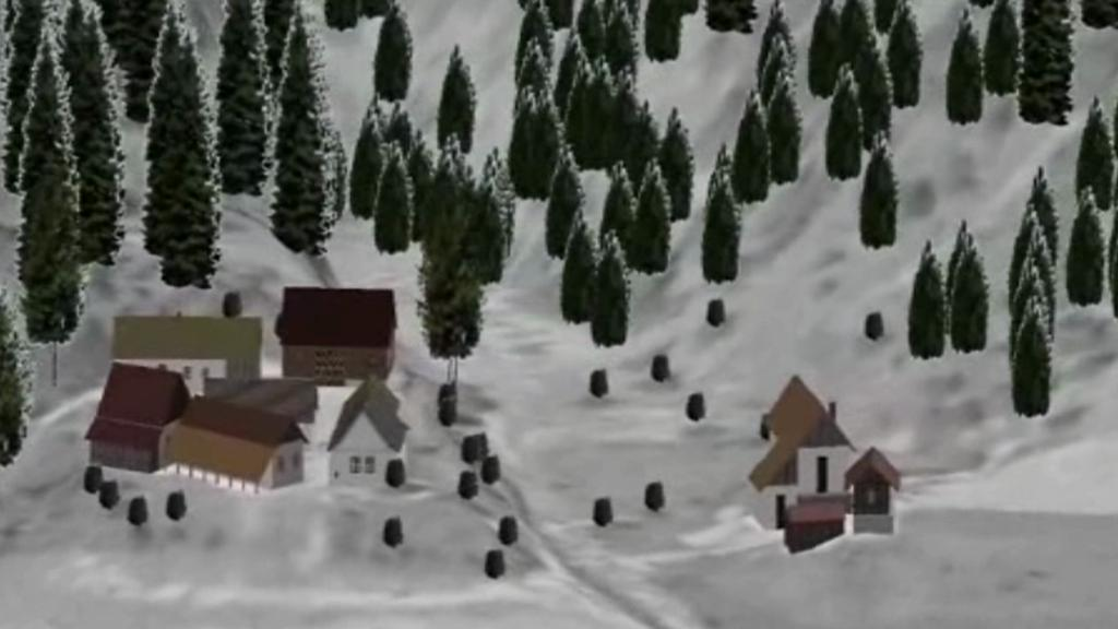 3D rekonstrukce zaniklých obcí Šumavy