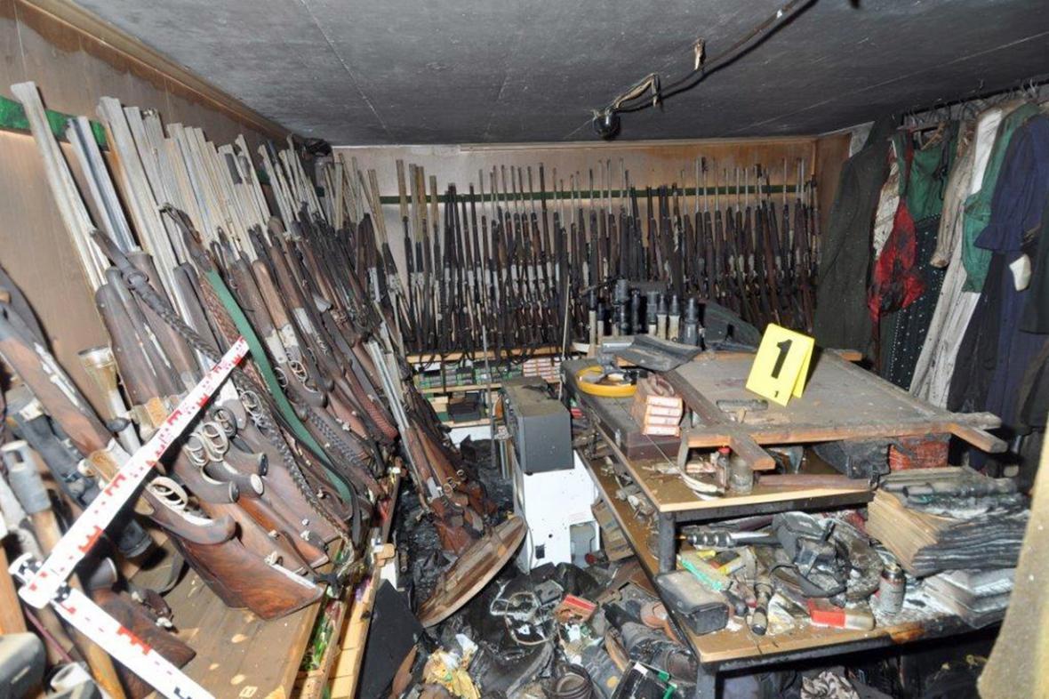 Zbrojní arzenál v Huberově domě