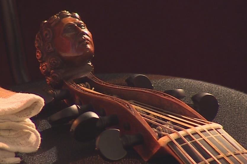 Hudebníci zahráli na dobové nástroje