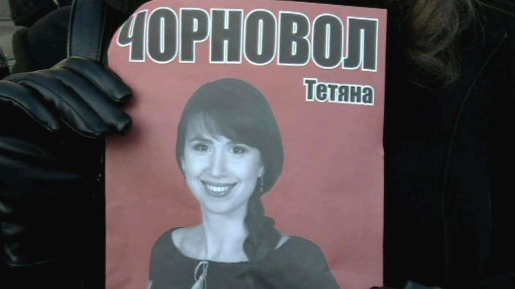 Ukrajinci demonstrovali na podporu napadené novinářky