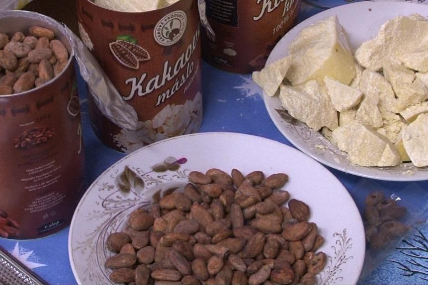 Návštěvníci uvidí i surovinu - kakaové boby