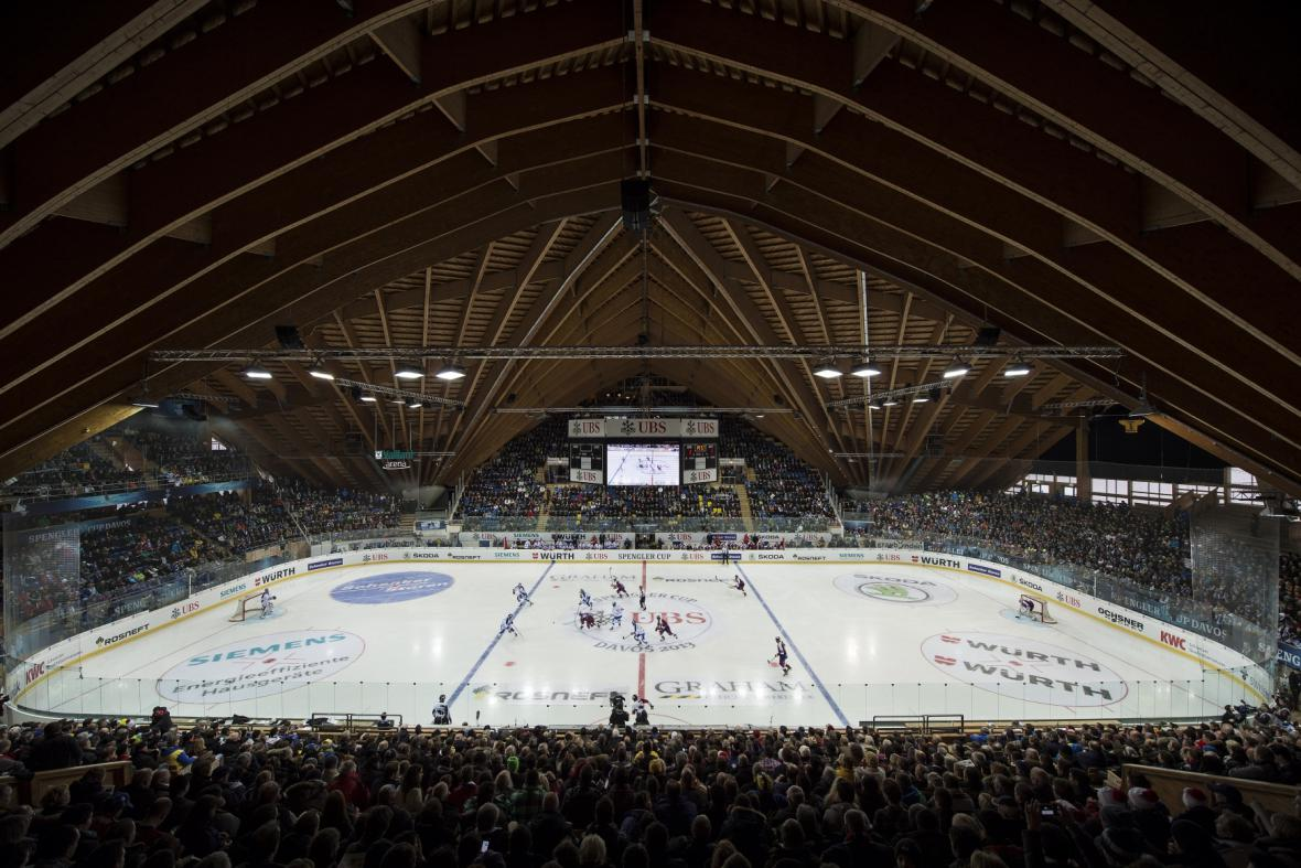 Hokejový stadion v Davosu