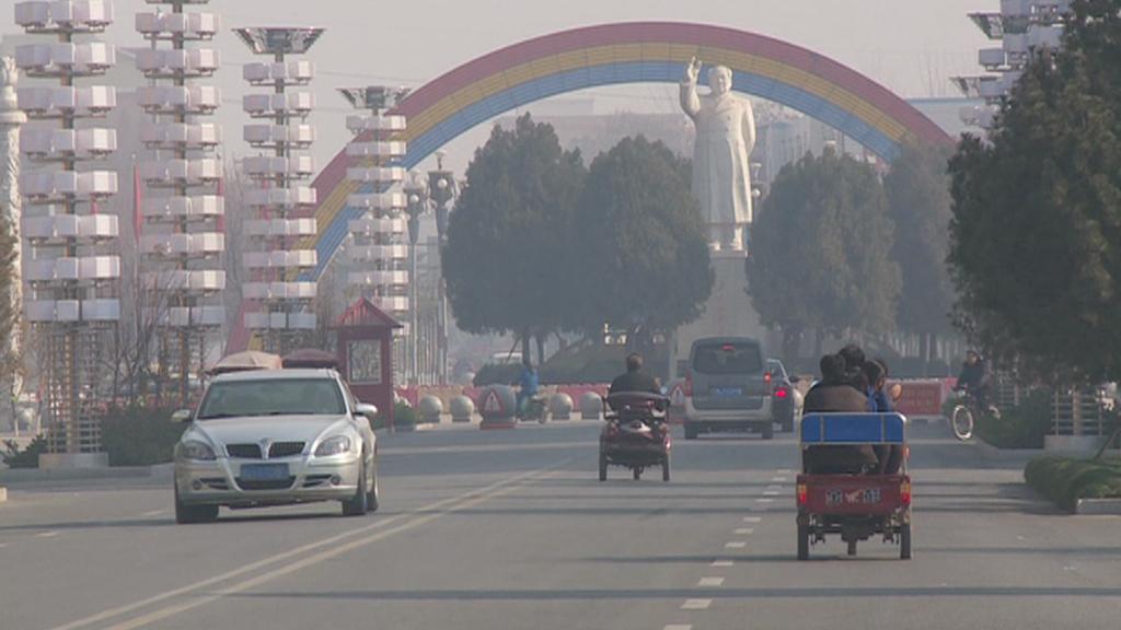 Vesnice Nan-ťie