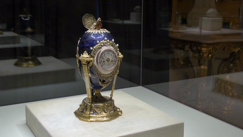 První Fabergého vejce