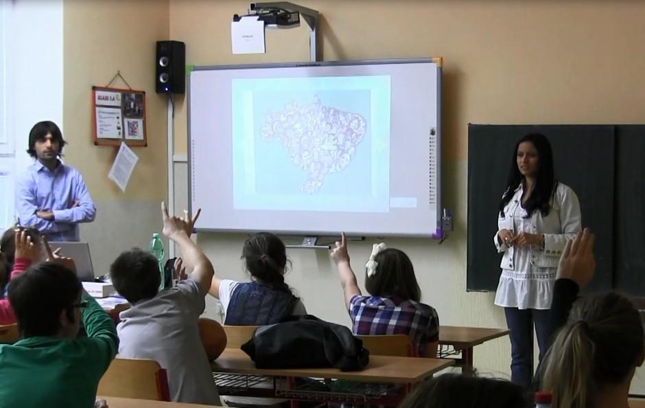 Nevšední výuka angličtiny v Borohrádku