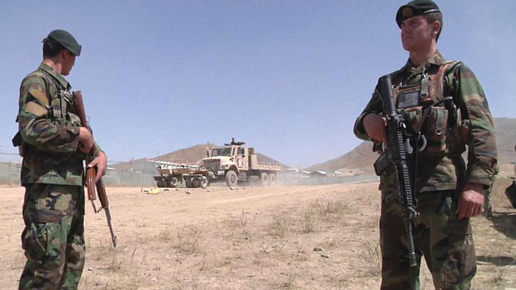 Vojáci v Afghánistánu