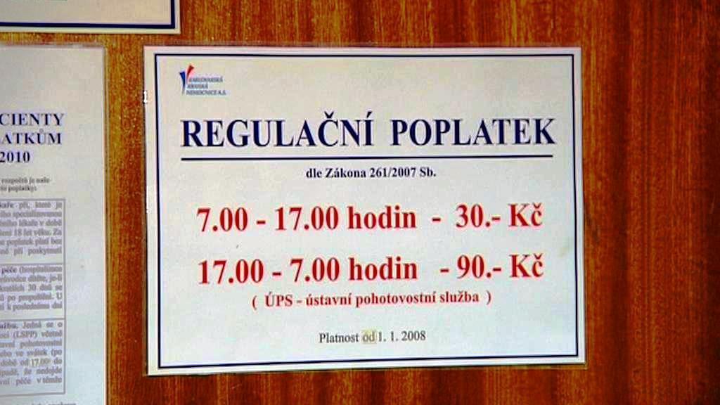 Regulační poplatky