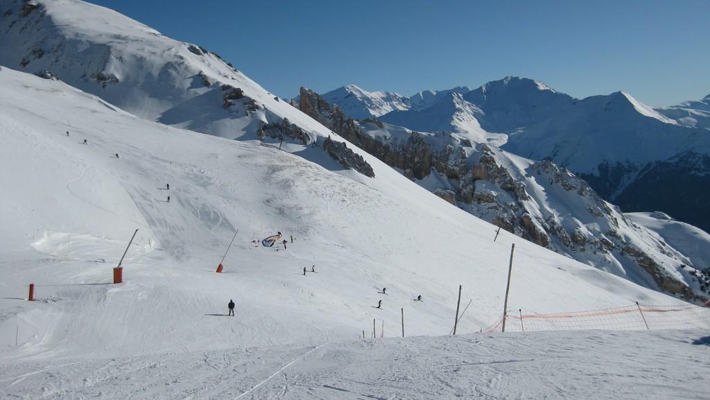 V lyžařském areálu La Norma