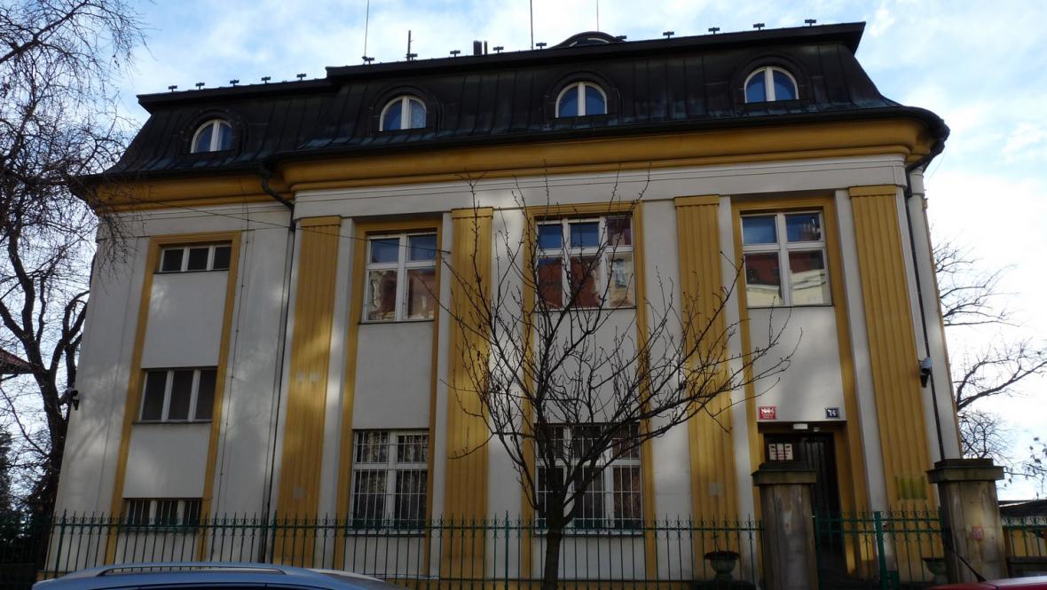 Bývalá rozhlasová vila v Dykově ulici