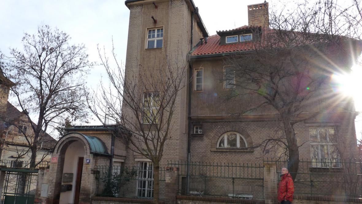 Hradešínská ulice - Kotěrova vila