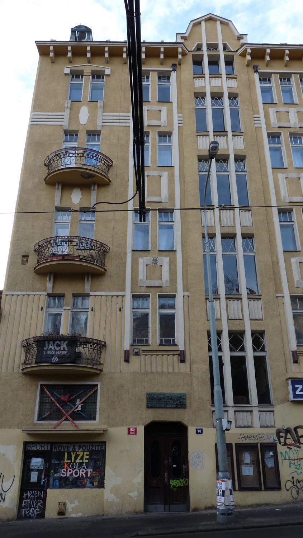 Ruská ulice - dům, kde žil Václav Talich