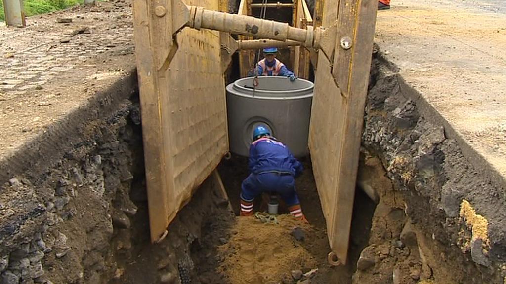 Oprava kanalizace