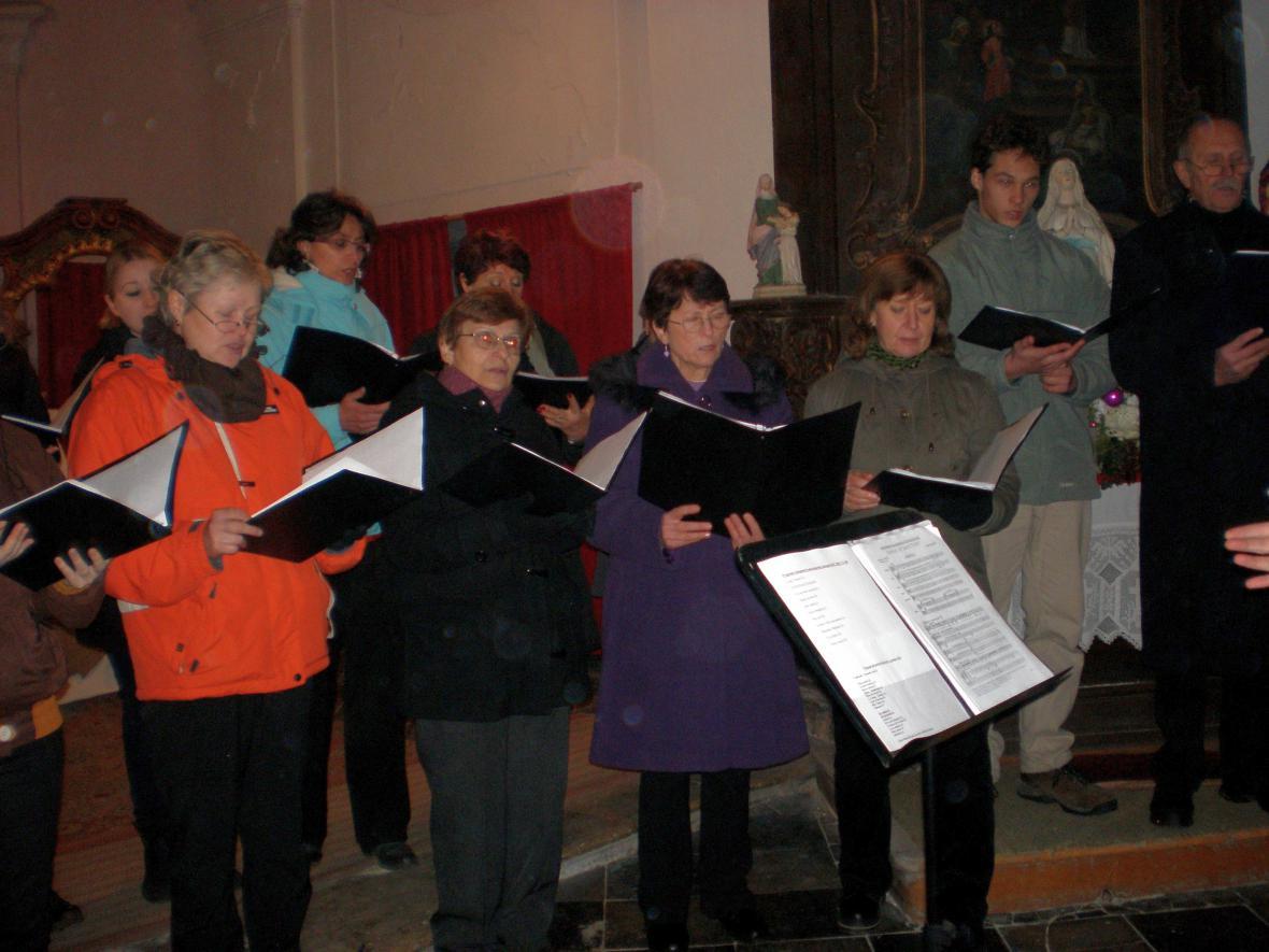 Vánoční koncert v Košticích