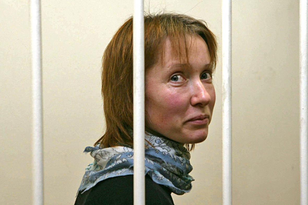Jekatěrina Zaspaová u ruského soudu
