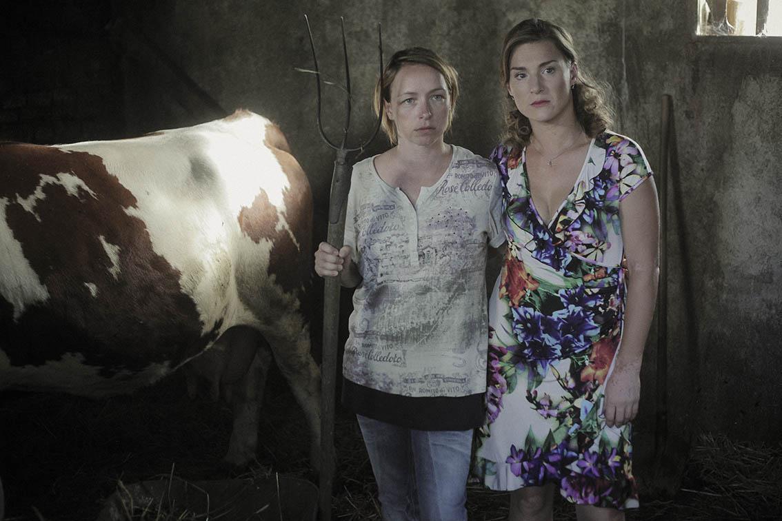 Tatiana Vilhelmová a Lenka Krobotová