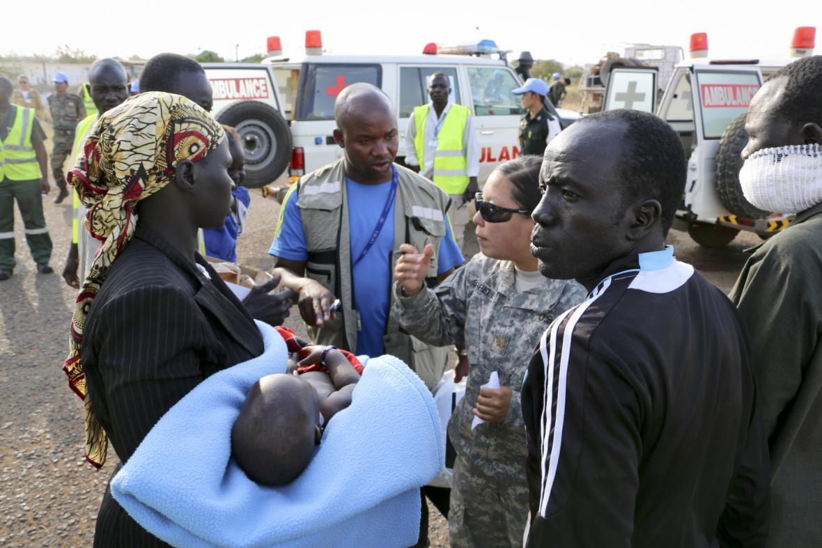 Konflikt v Jižním Súdánu řeší síly OSN