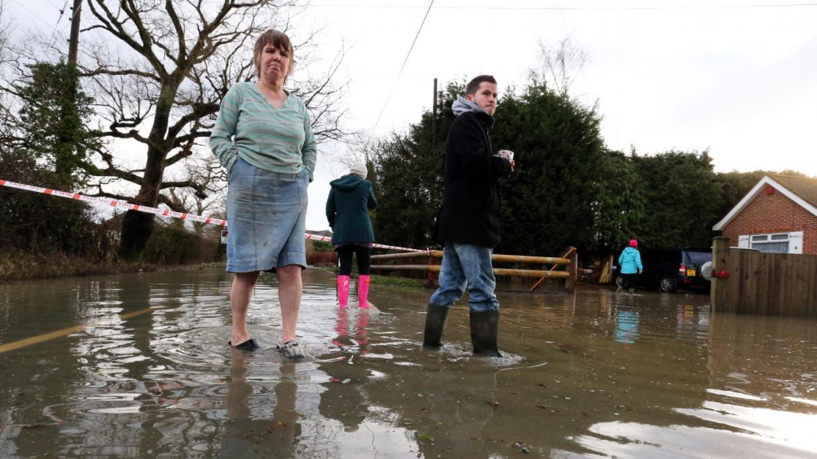 Vánoční záplavy v Anglii